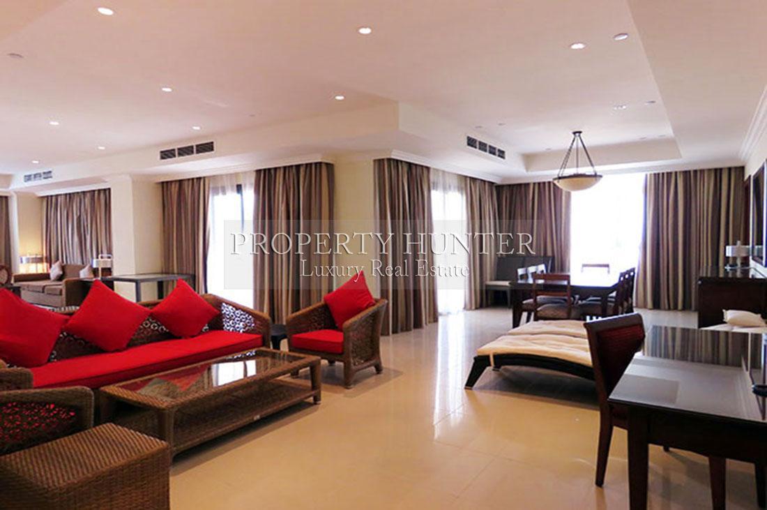 3+Maid Chambre Penthouse dans Doha - The Pearl-Qatar - Porto Arabia