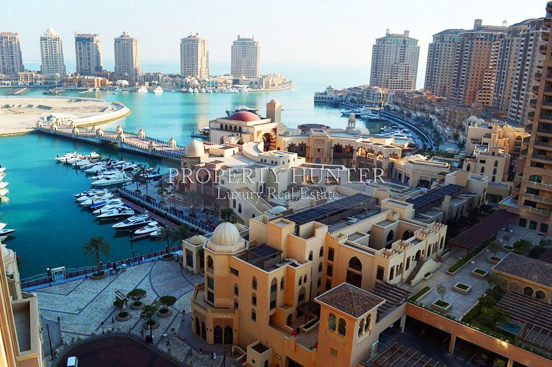 شقة 3+خادمة غرفة نوم في Doha - The Pearl-Qatar - Porto Arabia