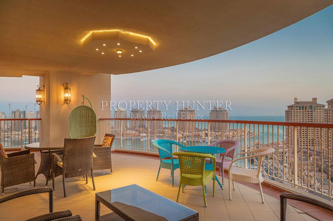 4+Maid Bedroom Apartment in Doha - The Pearl-Qatar