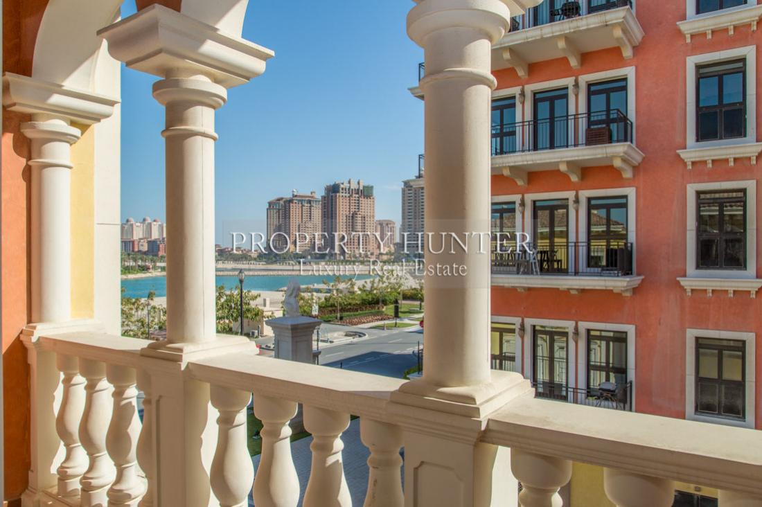 2 Bedroom Town House in Doha - The Pearl-Qatar - Qanat Quartier