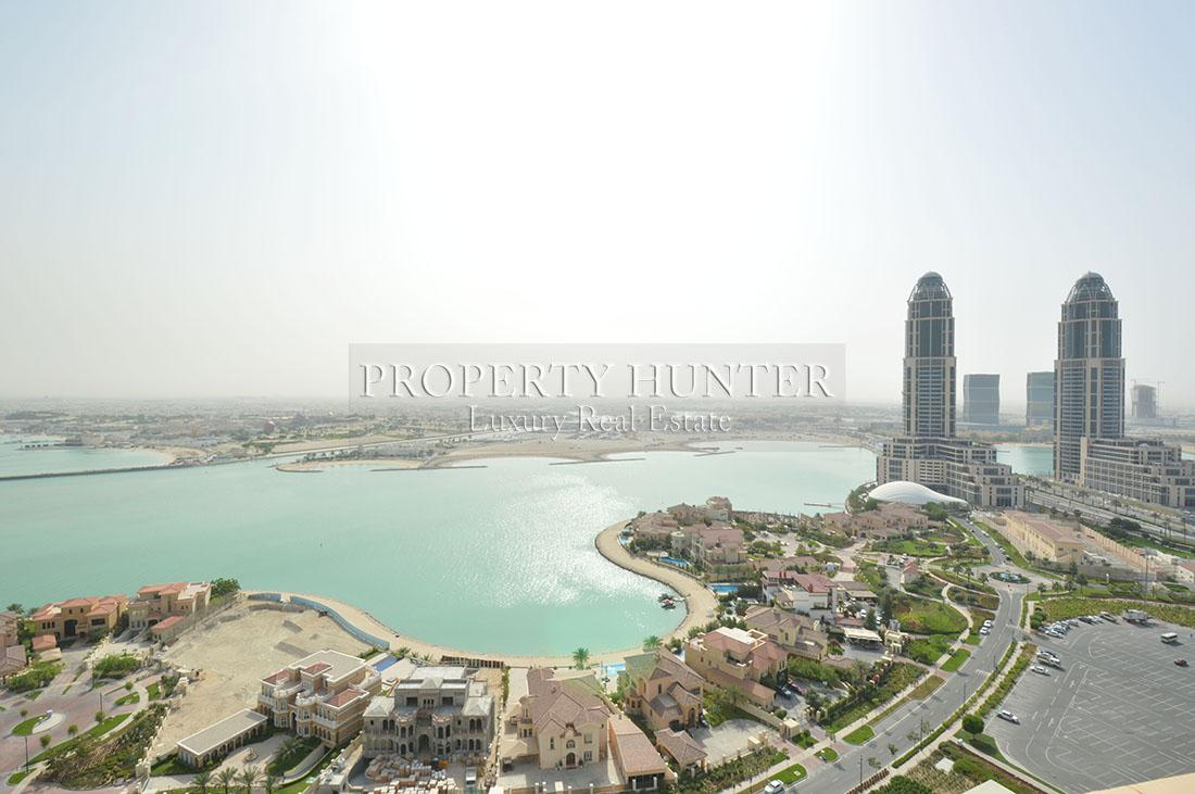 5+Maid Bedroom Penthouse in Doha - The Pearl-Qatar - Porto Arabia Drive