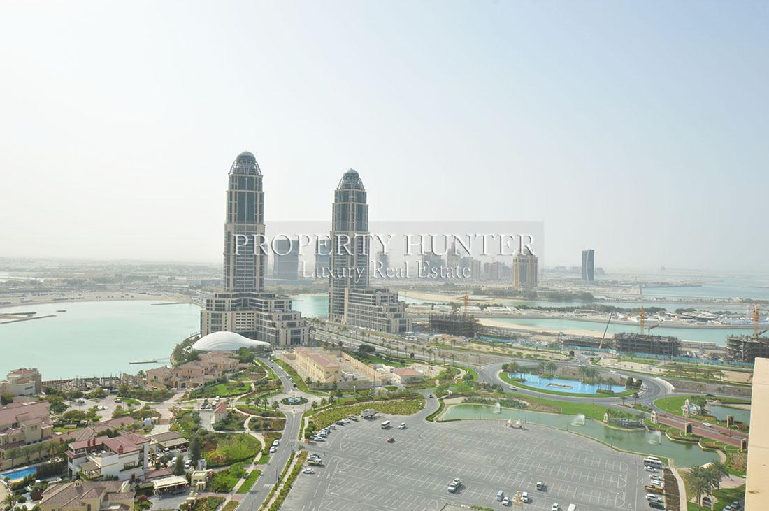 5+Maid Bedroom Penthouse in Doha - The Pearl-Qatar - Porto Arabia Drive