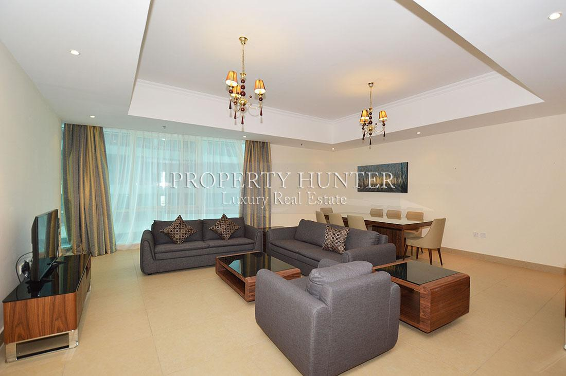 3+Maid Bedroom Apartment in Doha - Diplomatic Area - West Bay