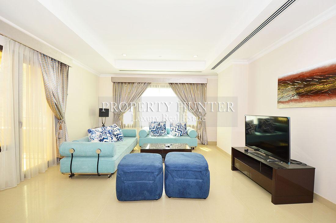 1+Maid Bedroom Apartment in Doha - The Pearl-Qatar - Porto Arabia