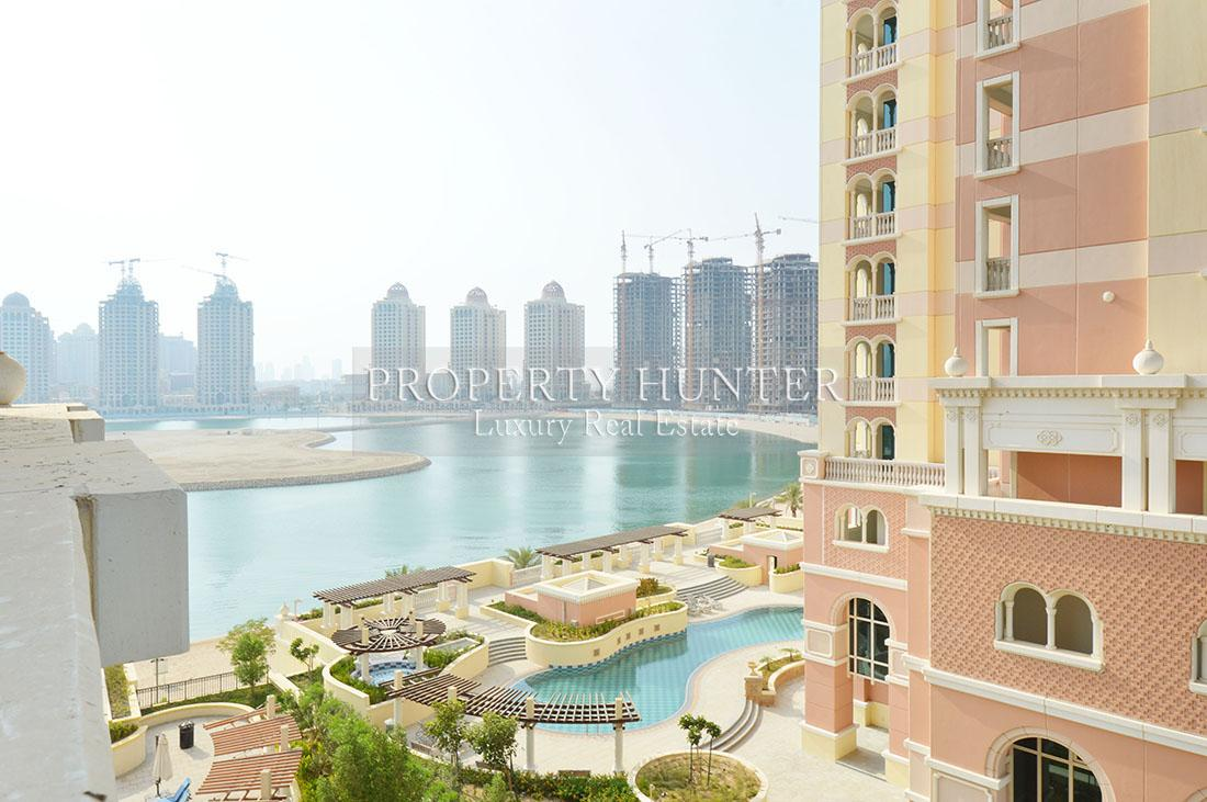 Studio Bedroom Apartment in Doha - The Pearl-Qatar - Viva Bahriya