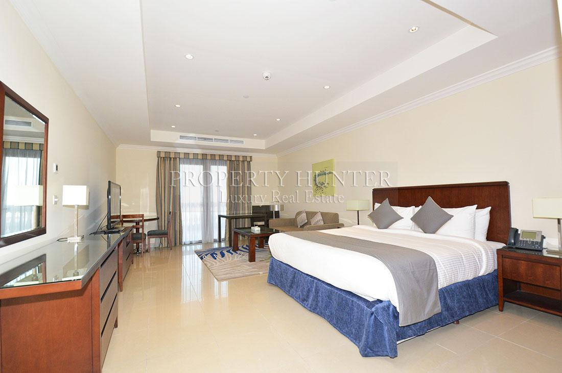 Studio Bedroom Apartment in Doha - The Pearl-Qatar - Porto Arabia Drive
