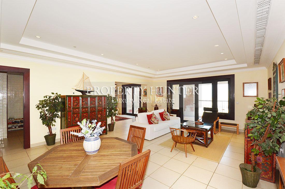 2+Maid Chambre Appartement dans Doha - The Pearl-Qatar - Porto Arabia