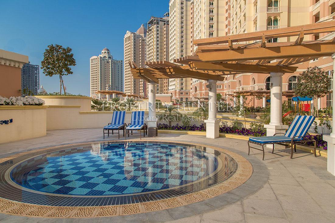 3+Maid Cuarto Apartamento en Doha - The Pearl-Qatar - Viva Bahriya