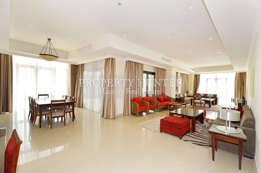 3+Maid Bedroom Penthouse in Doha - The Pearl-Qatar