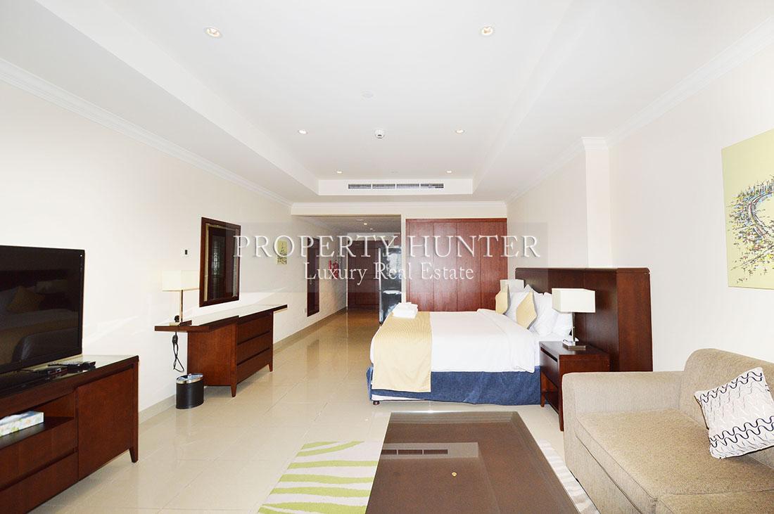 Studio Bedroom Apartment in Doha - The Pearl-Qatar - Porto Arabia