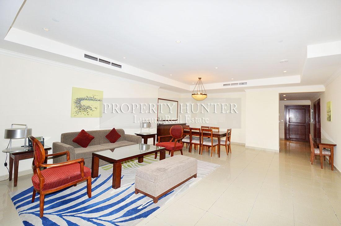3+Maid Bedroom Apartment in Doha - The Pearl-Qatar - Porto Arabia