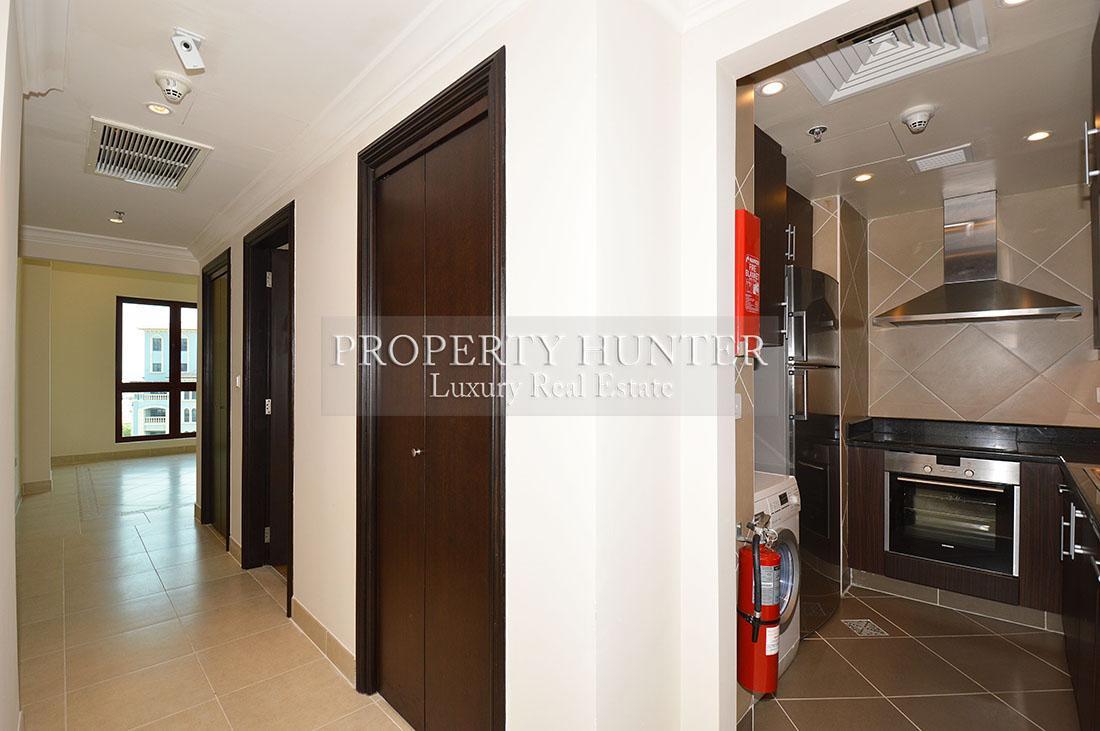 Studio Bedroom Apartment in Doha - The Pearl-Qatar - Medina Centrale