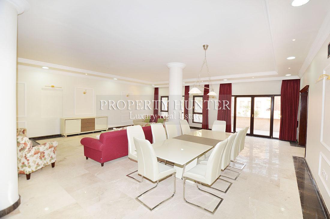 5+Maid Cuarto Villa en compuesto en Doha - West Bay Lagoon