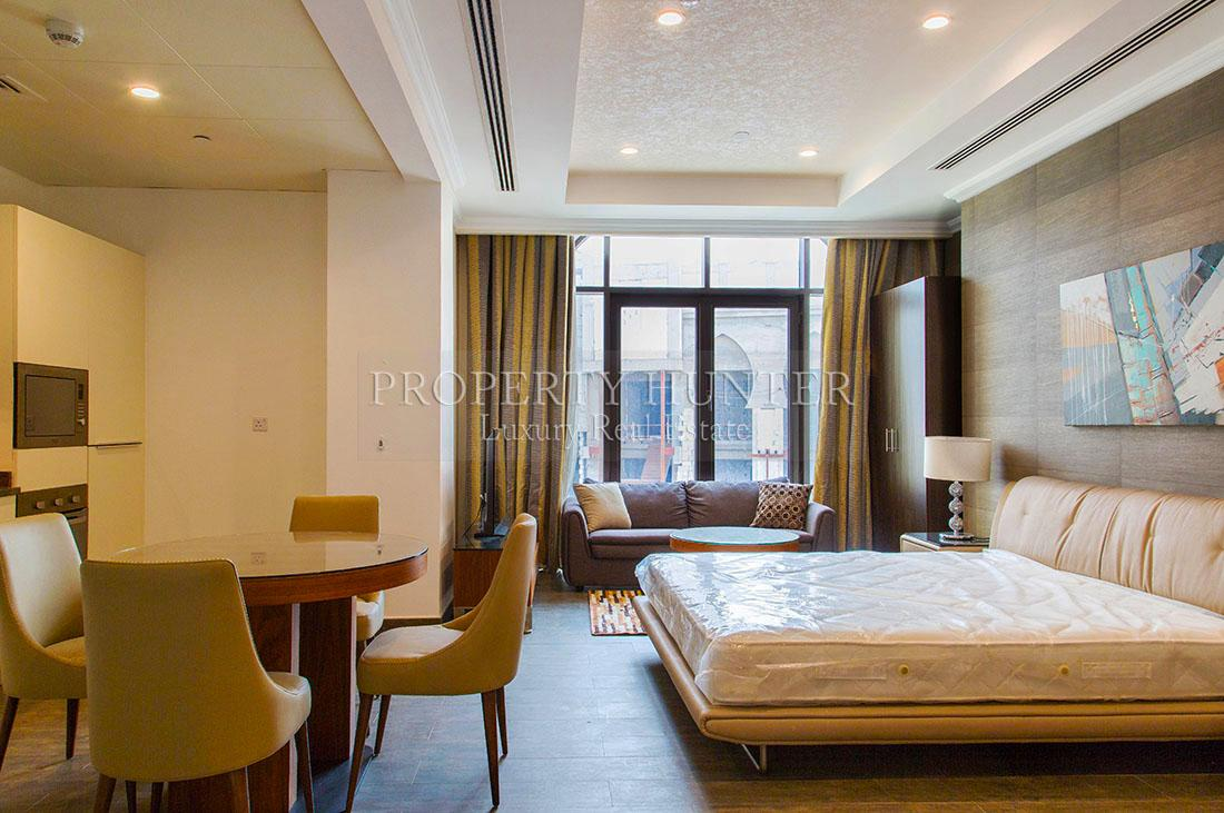 Studio Bedroom Penthouse in Doha - The Pearl-Qatar - Porto Arabia