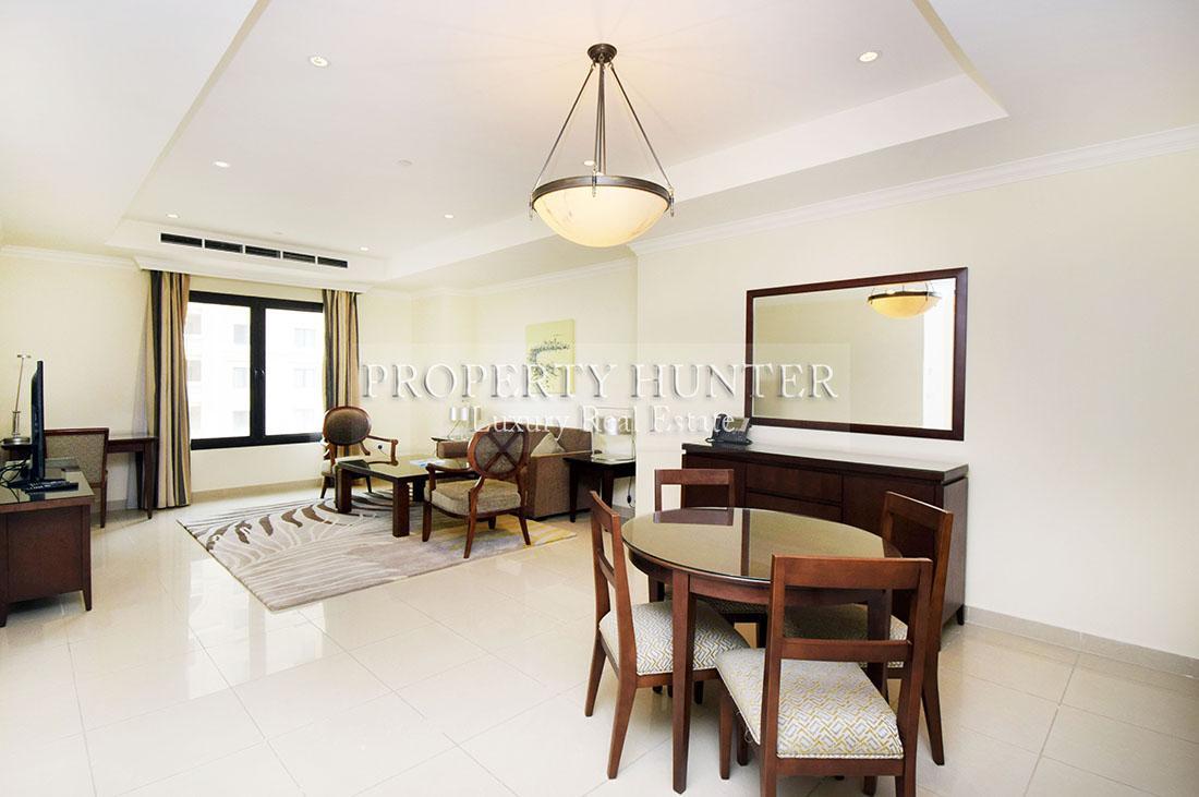 1 Bedroom Apartment in Doha - The Pearl-Qatar - Porto Arabia