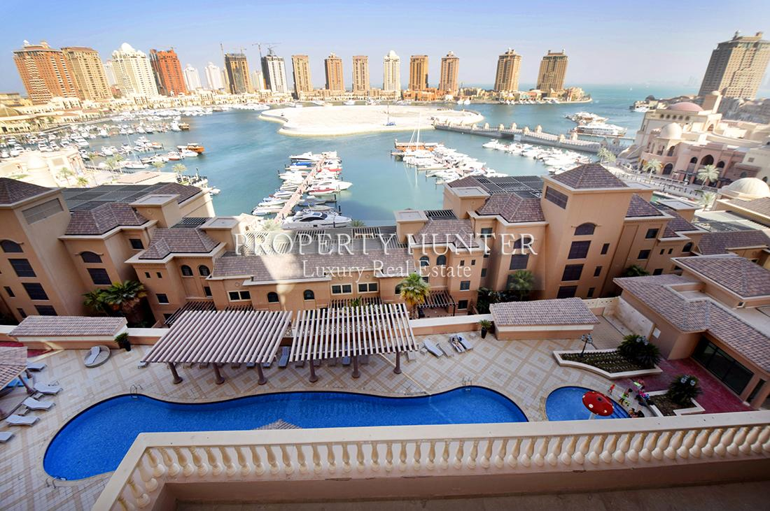 شقة 2 غرفة نوم في Doha - The Pearl-Qatar - Porto Arabia