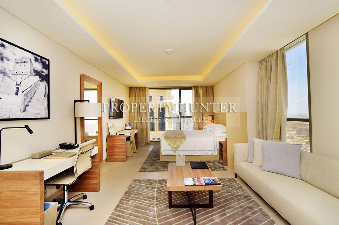 Studio Bedroom Apartment in Doha - Diplomatic Area - West Bay