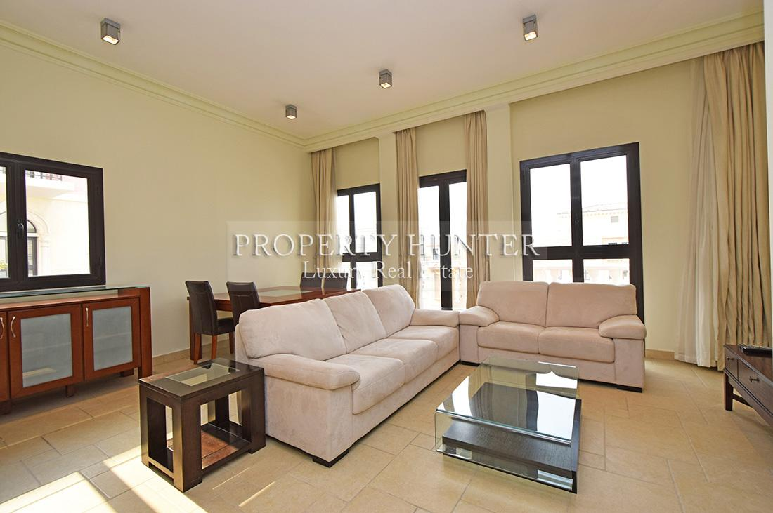 1 Bedroom Apartment in Doha - The Pearl-Qatar - Qanat Quartier