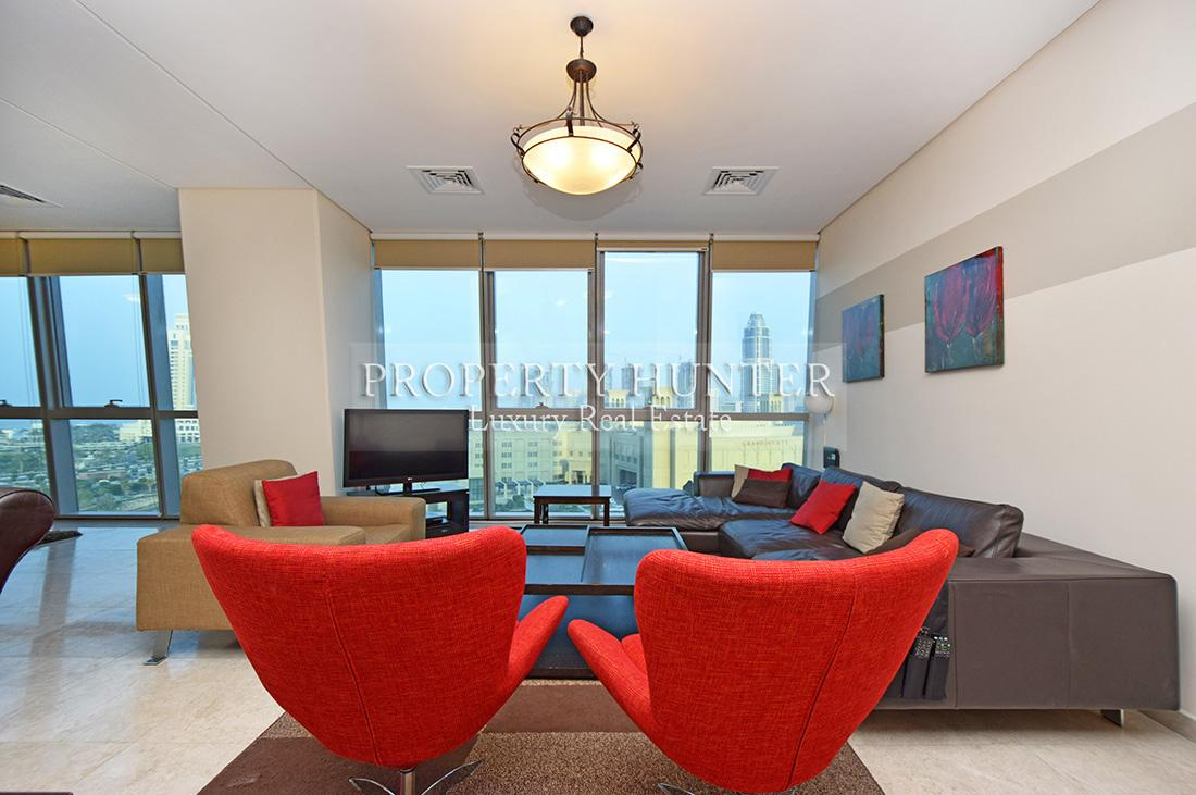 3+Maid Bedroom Apartment in Doha - Zigzag Towers