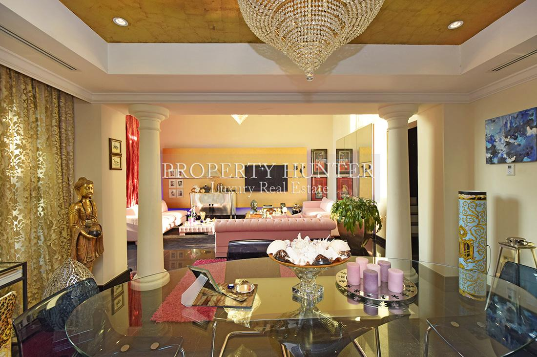 3+Maid Bedroom Town House in Doha - The Pearl-Qatar