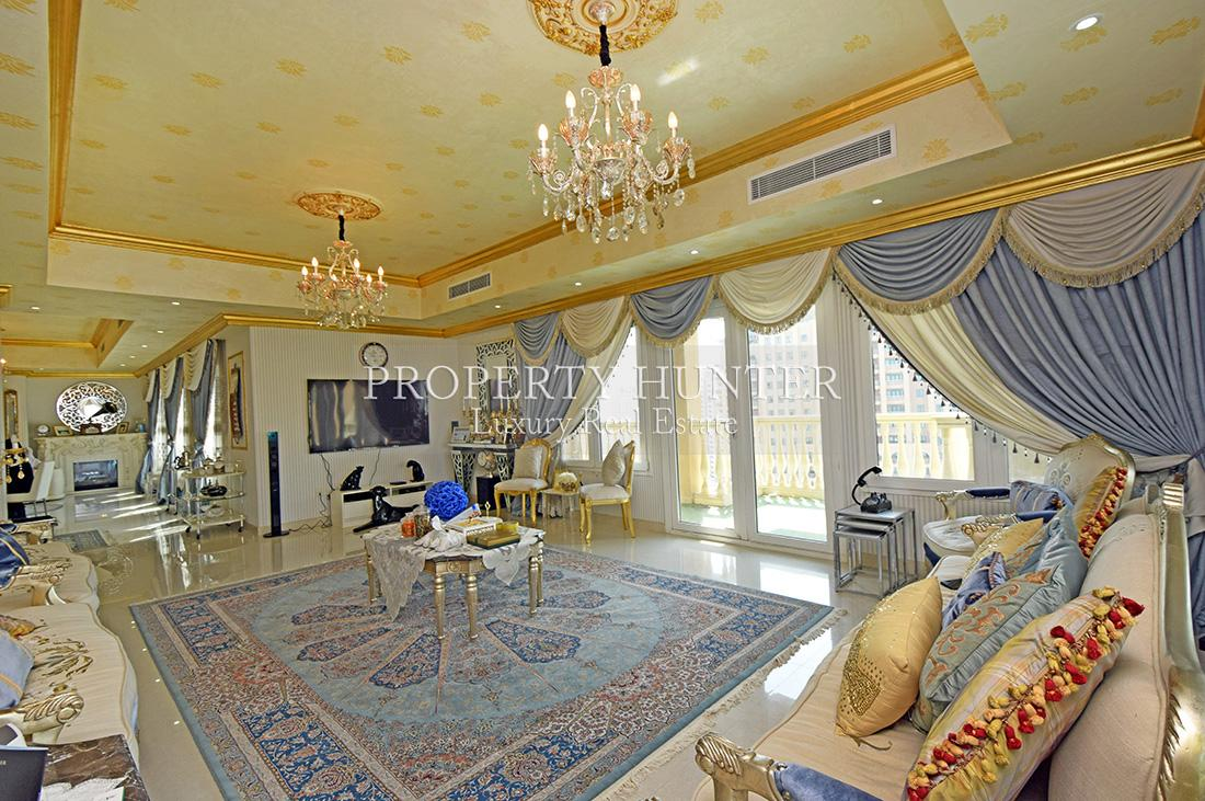 3+Maid Bedroom Apartment in Doha - The Pearl-Qatar - Porto Arabia Drive