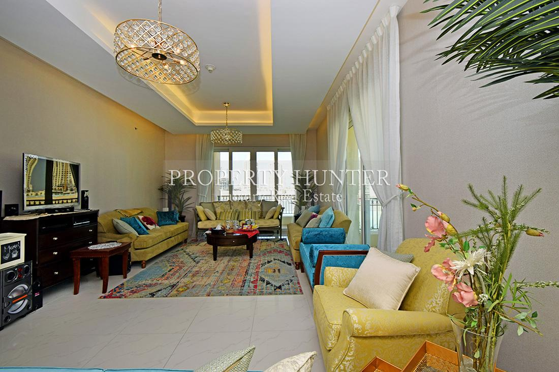 1 Bedroom Town House in Doha - The Pearl-Qatar - Viva Bahriya