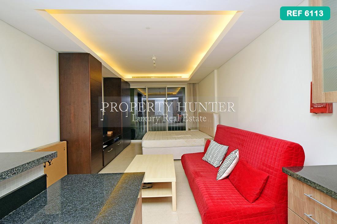 Studio Bedroom Apartment in Doha - The Pearl-Qatar - Viva Bahriya
