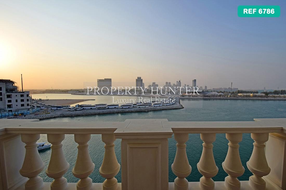 شقة 3 غرفة نوم في Doha - The Pearl-Qatar - Qanat Quartier