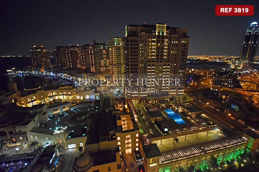 3+Maid Bedroom Apartment in Doha - The Pearl-Qatar - Porto Arabia
