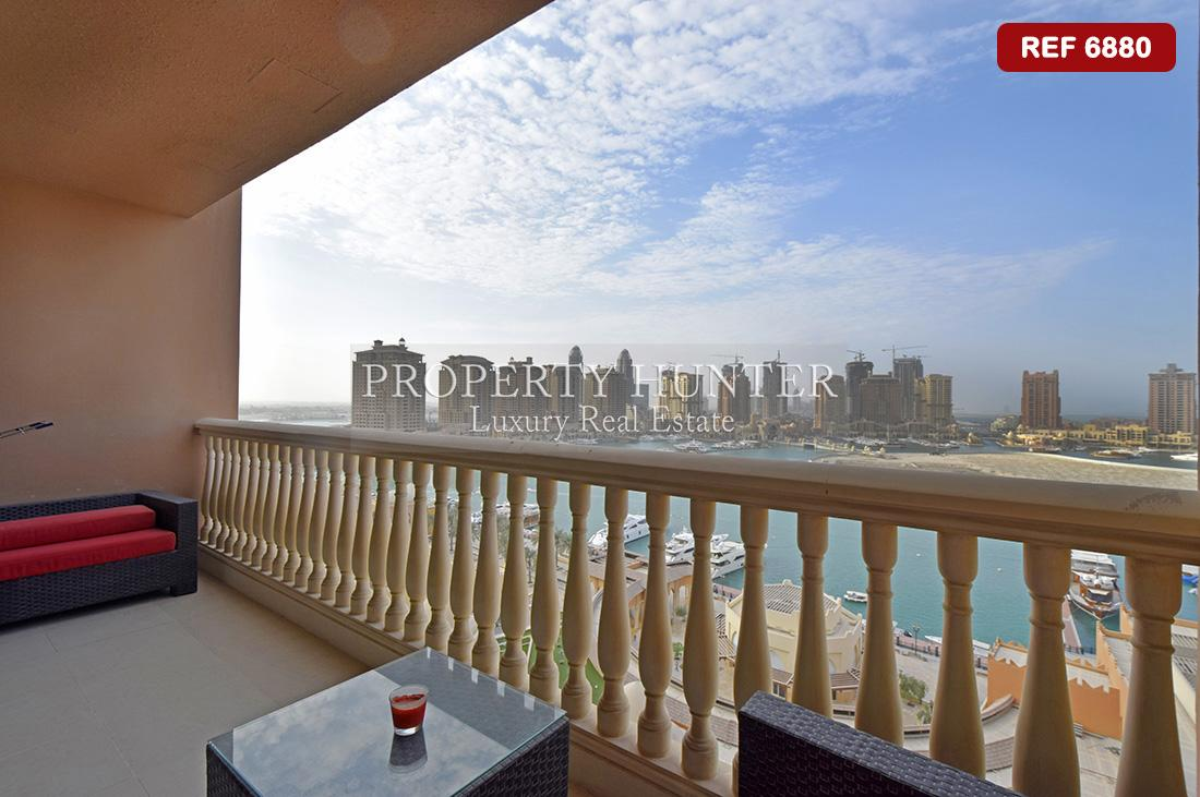3 Bedroom Apartment in Doha - The Pearl-Qatar - Porto Arabia
