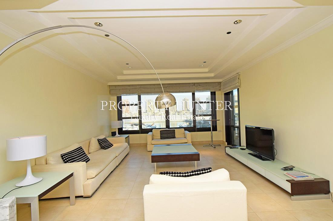 2 Bedroom Town House in Doha - The Pearl-Qatar - Porto Arabia Drive