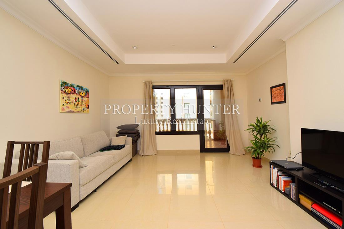 1 Bedroom Apartment in Doha - The Pearl-Qatar - Porto Arabia