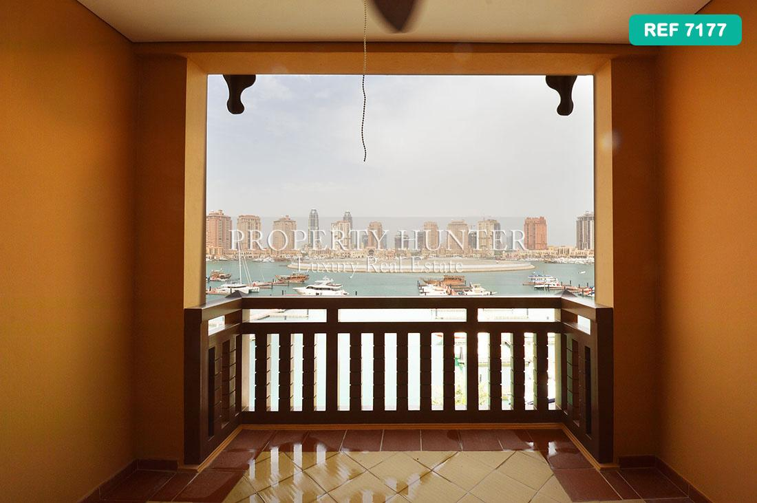 1 Bedroom Town House in Doha - The Pearl-Qatar - Porto Arabia