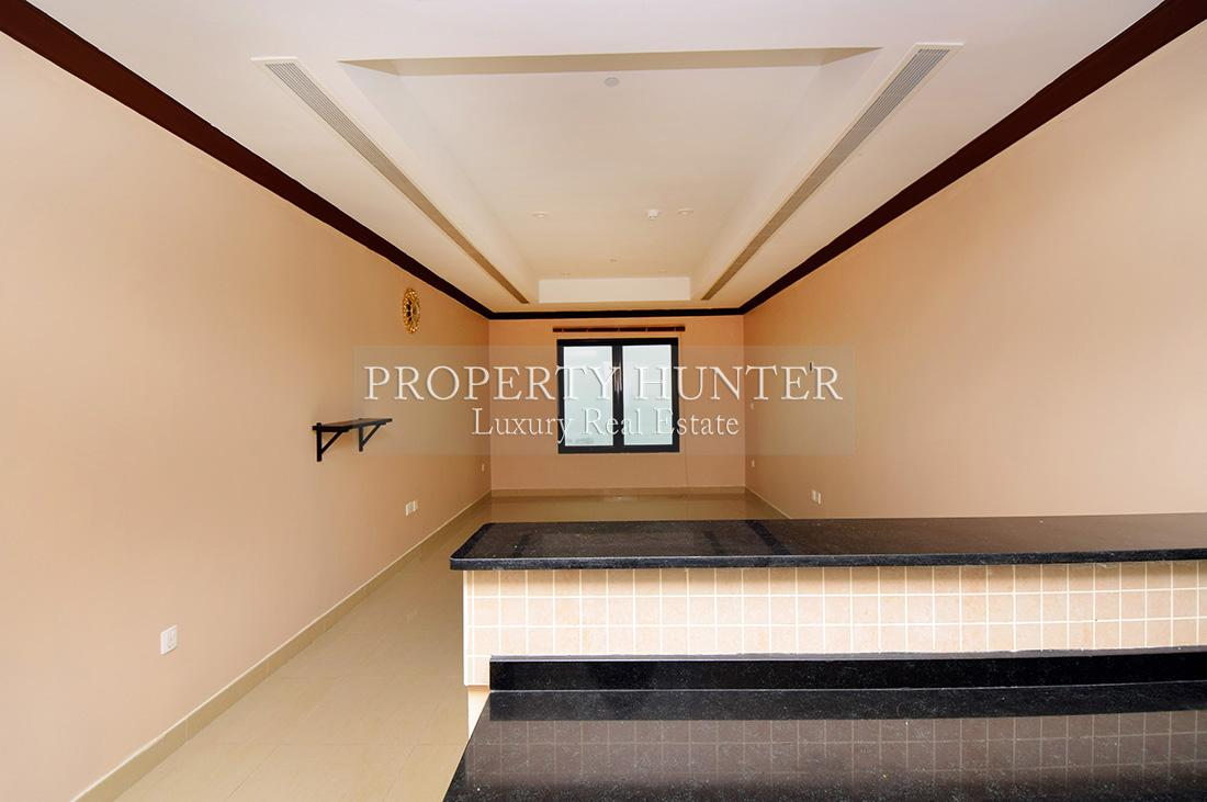 Studio Bedroom Apartment in Doha - The Pearl-Qatar - Porto Arabia