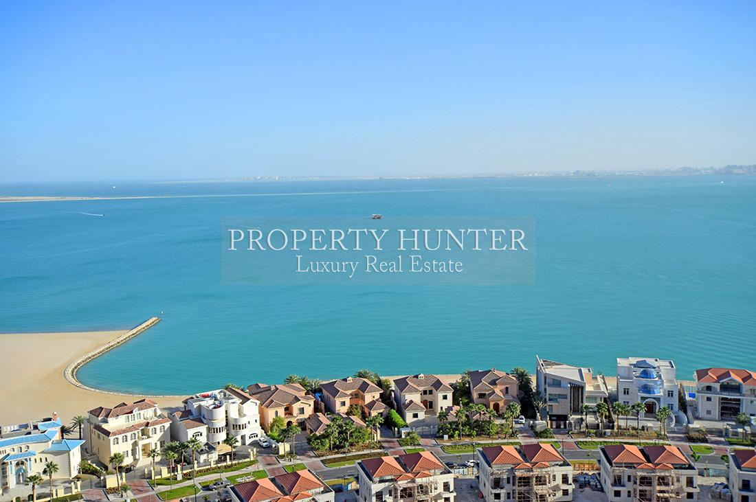 4+Maid Bedroom Penthouse in Doha - The Pearl-Qatar - Porto Arabia