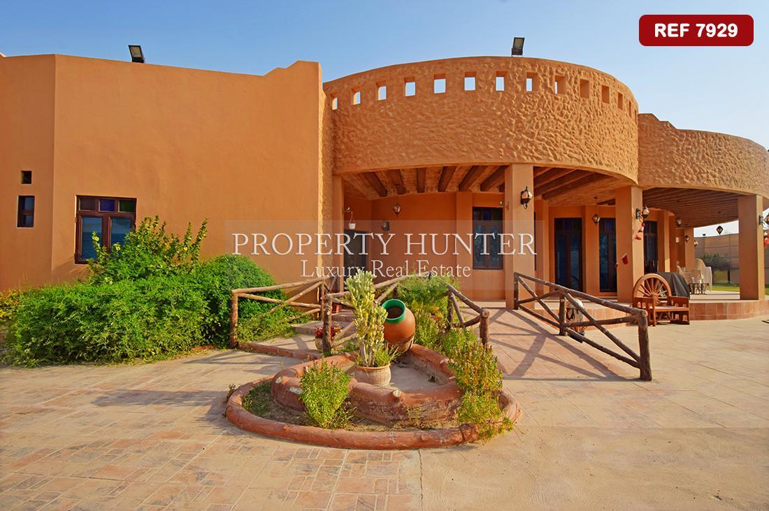 5 Cuarto Villa independiente en Umm Abirieh