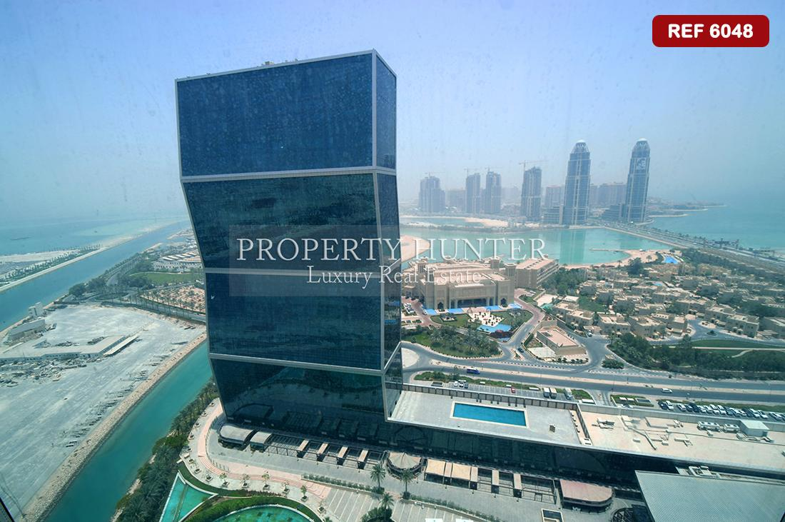شقة 2+خادمة غرفة نوم في Doha - Zigzag Towers