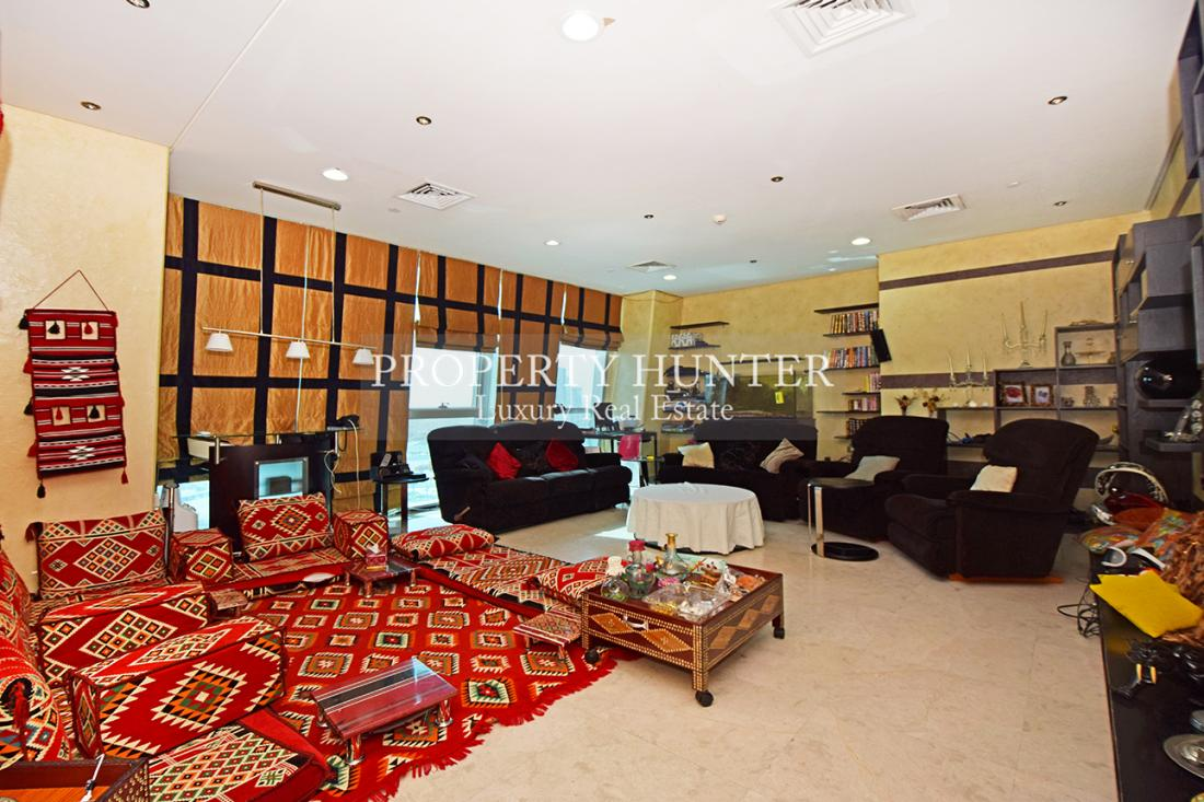 3+Maid Chambre Appartement dans Doha - Zigzag Towers