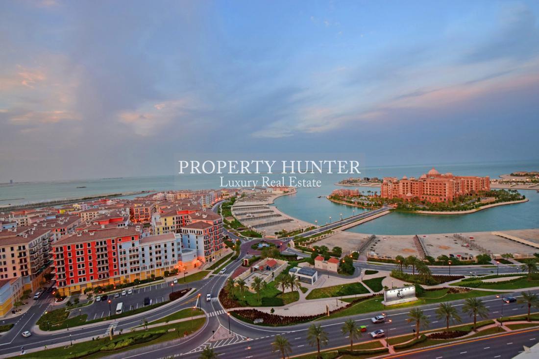 2 Chambre Appartement dans Doha - The Pearl-Qatar
