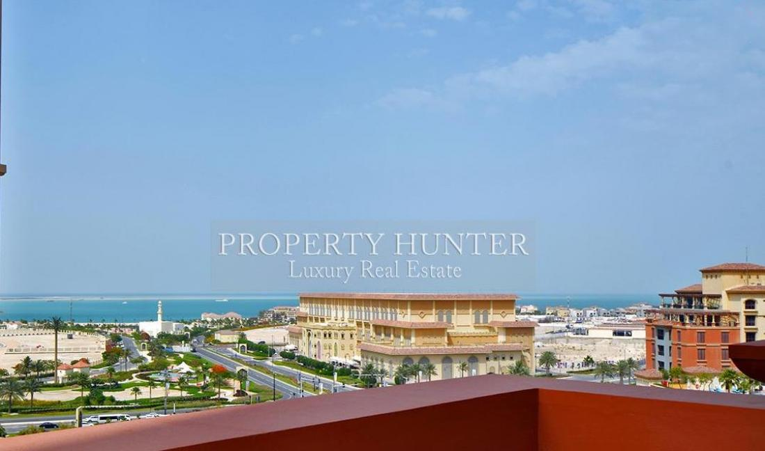شقة 1 غرفة نوم في Doha - The Pearl-Qatar - Porto Arabia