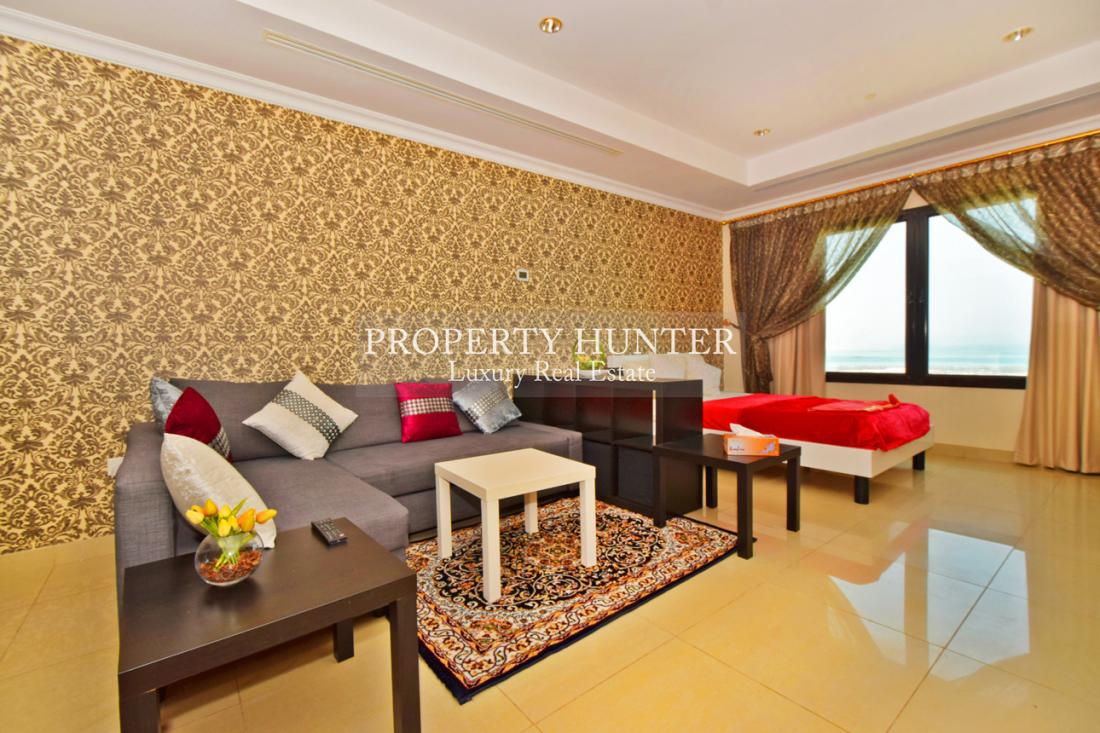 Studio Bedroom Studio in Doha - The Pearl-Qatar