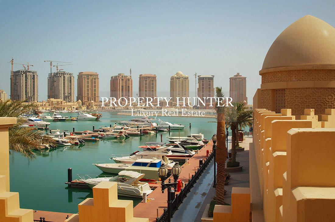 3+Maid Bedroom Town House in Doha - The Pearl-Qatar - Porto Arabia