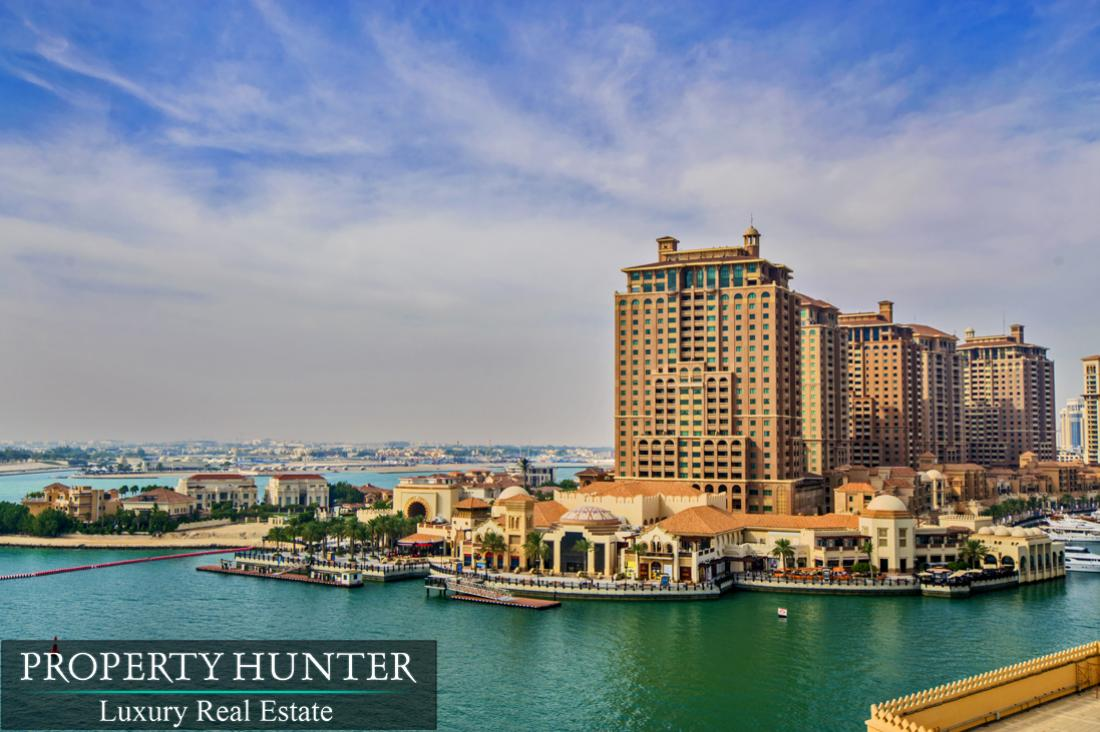 2 Bedroom Apartment in Doha - The Pearl-Qatar - Porto Arabia