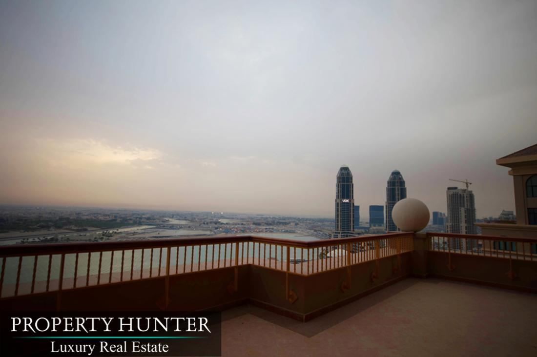 4+Maid Bedroom Penthouse in Doha - The Pearl-Qatar