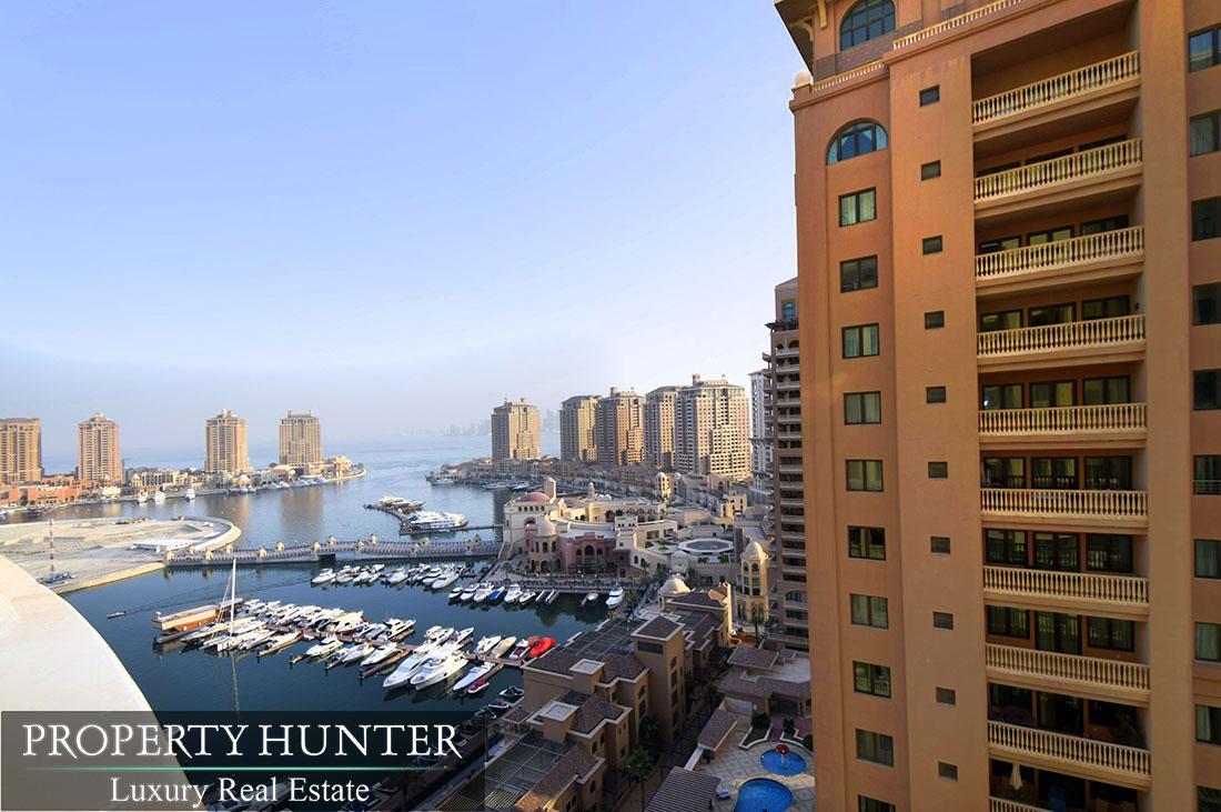 شقة 2 غرفة نوم في Doha - The Pearl-Qatar - Porto Arabia