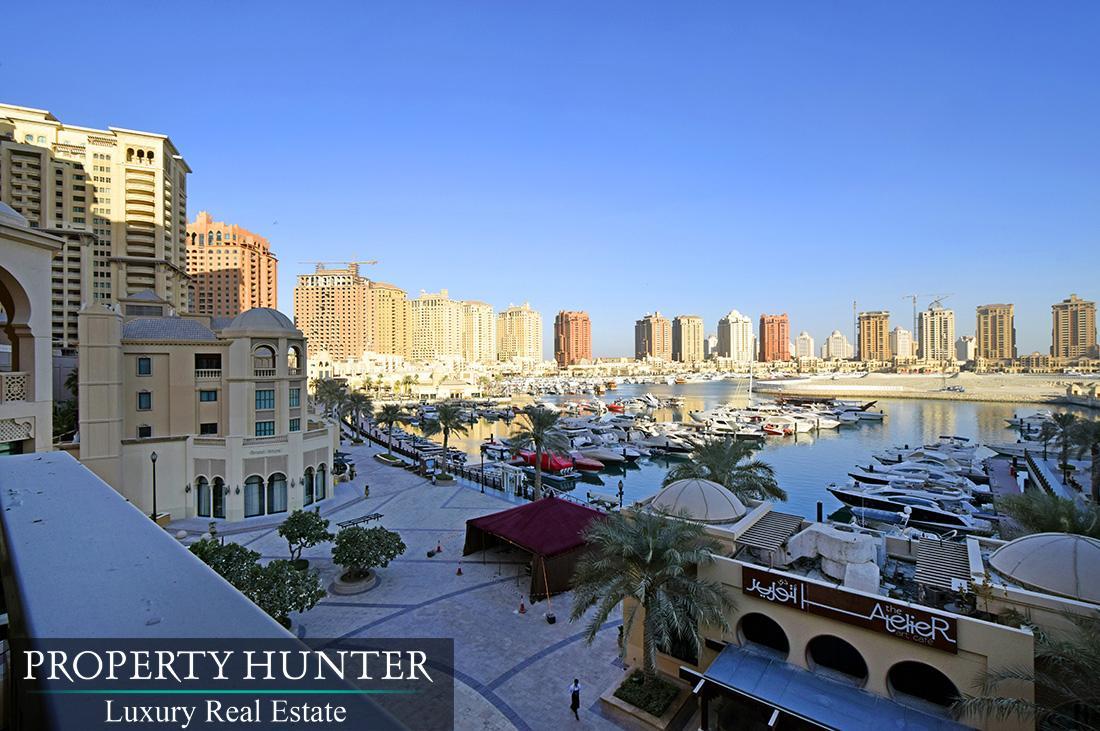 2 Bedroom Town House in Doha - The Pearl-Qatar - Porto Arabia Drive